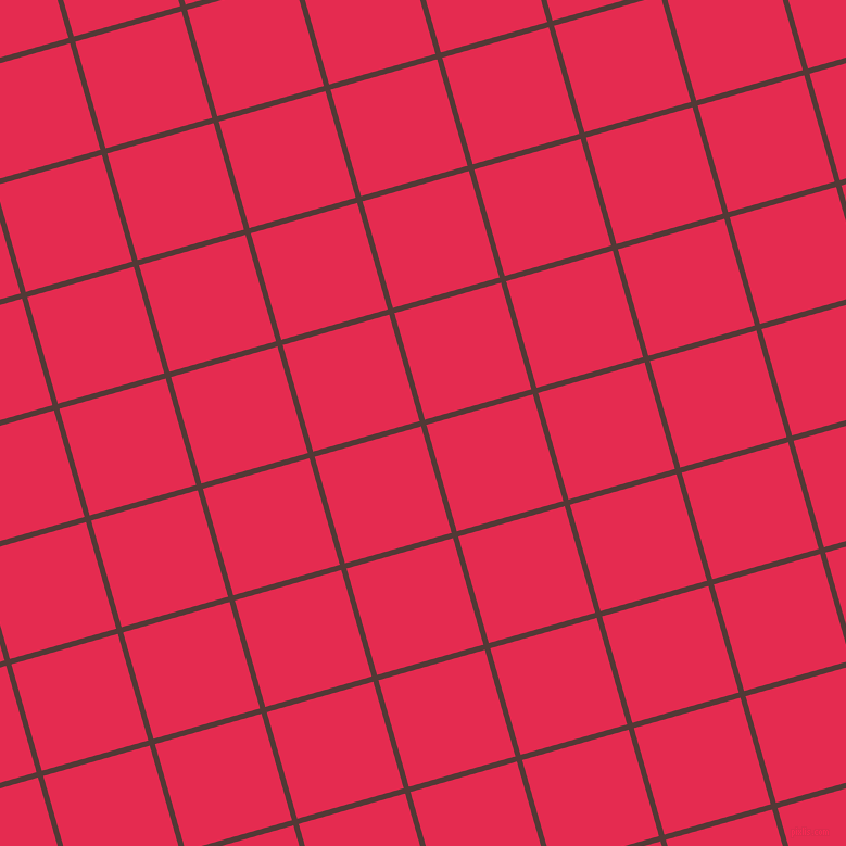 16/106 degree angle diagonal checkered chequered lines, 5 pixel lines width, 102 pixel square size, Van Cleef and Amaranth plaid checkered seamless tileable