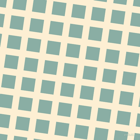 82/172 degree angle diagonal checkered chequered lines, 21 pixel lines width, 42 pixel square size, Varden and Sea Nymph plaid checkered seamless tileable