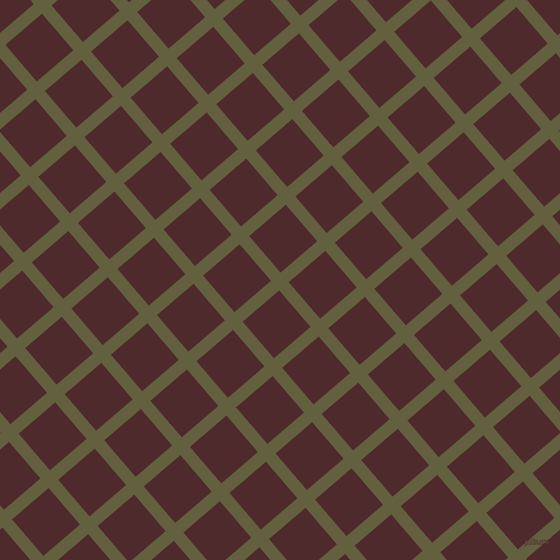 41/131 degree angle diagonal checkered chequered lines, 18 pixel line width, 69 pixel square size, Verdigris and Heath plaid checkered seamless tileable