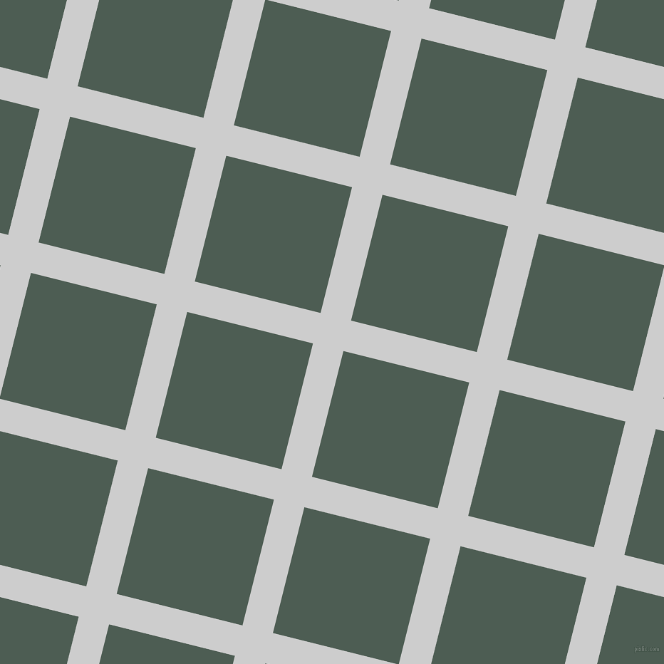 76/166 degree angle diagonal checkered chequered lines, 44 pixel line width, 182 pixel square size, Very Light Grey and Feldgrau plaid checkered seamless tileable