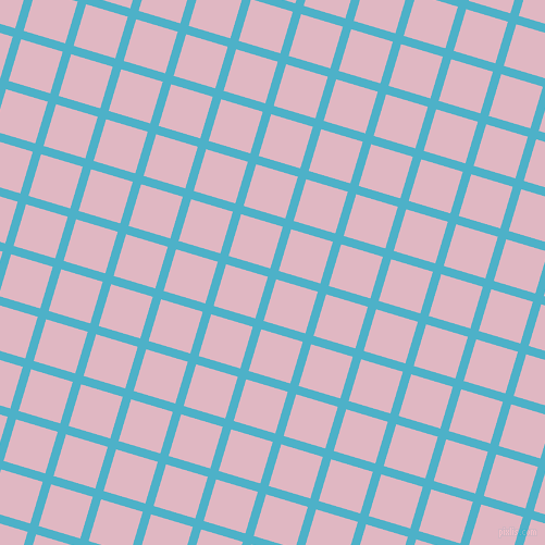 73/163 degree angle diagonal checkered chequered lines, 8 pixel line width, 40 pixel square size, Viking and Melanie plaid checkered seamless tileable
