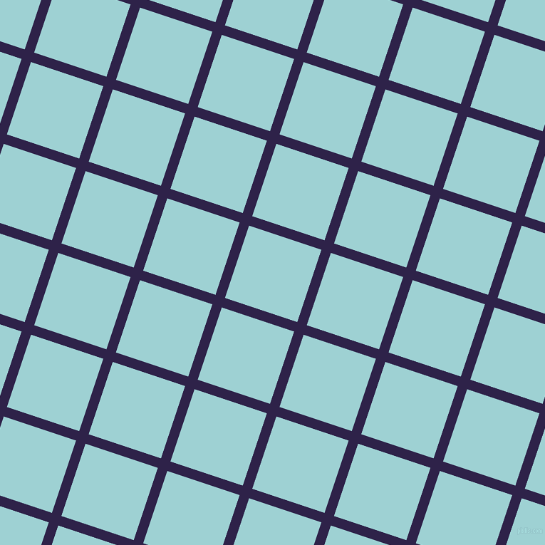72/162 degree angle diagonal checkered chequered lines, 14 pixel lines width, 107 pixel square size, Violent Violet and Morning Glory plaid checkered seamless tileable