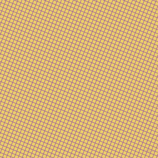 68/158 degree angle diagonal checkered chequered lines, 2 pixel line width, 12 pixel square size, Violet Blue and Golden Sand plaid checkered seamless tileable