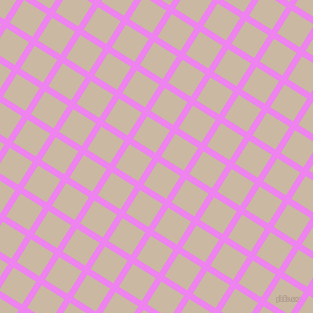 58/148 degree angle diagonal checkered chequered lines, 9 pixel lines width, 38 pixel square size, Violet and Grain Brown plaid checkered seamless tileable