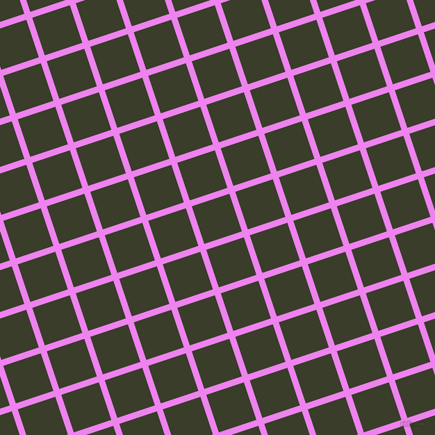 18/108 degree angle diagonal checkered chequered lines, 9 pixel line width, 57 pixel square size, Violet and Green Kelp plaid checkered seamless tileable