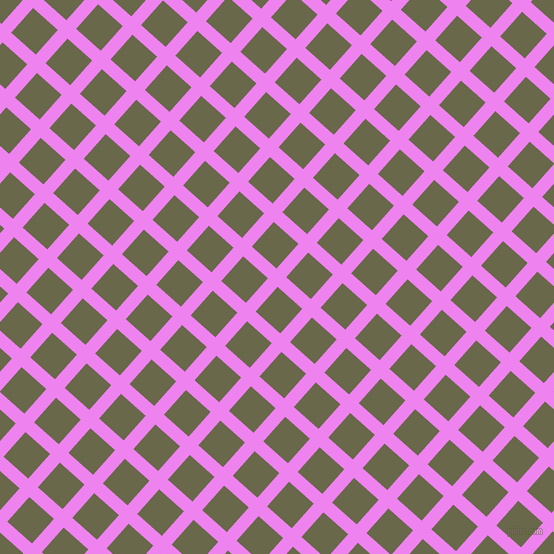 48/138 degree angle diagonal checkered chequered lines, 13 pixel lines width, 33 pixel square size, Violet and Hemlock plaid checkered seamless tileable