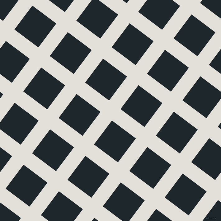 53/143 degree angle diagonal checkered chequered lines, 46 pixel line width, 96 pixel square size, Vista White and Black Pearl plaid checkered seamless tileable
