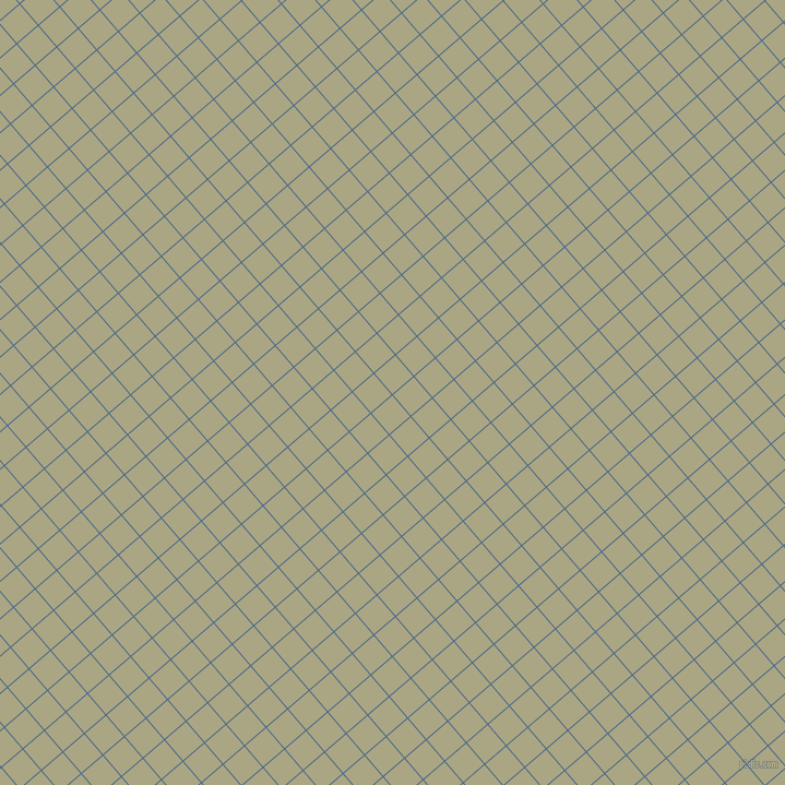 41/131 degree angle diagonal checkered chequered lines, 1 pixel line width, 25 pixel square size, Wedgewood and Neutral Green plaid checkered seamless tileable