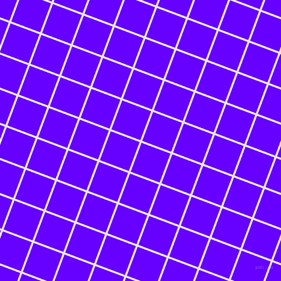 69/159 degree angle diagonal checkered chequered lines, 4 pixel line width, 61 pixel square size, White Linen and Electric Indigo plaid checkered seamless tileable