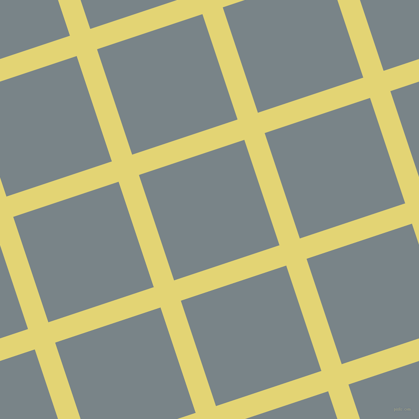 18/108 degree angle diagonal checkered chequered lines, 44 pixel lines width, 228 pixel square size, Wild Rice and Regent Grey plaid checkered seamless tileable