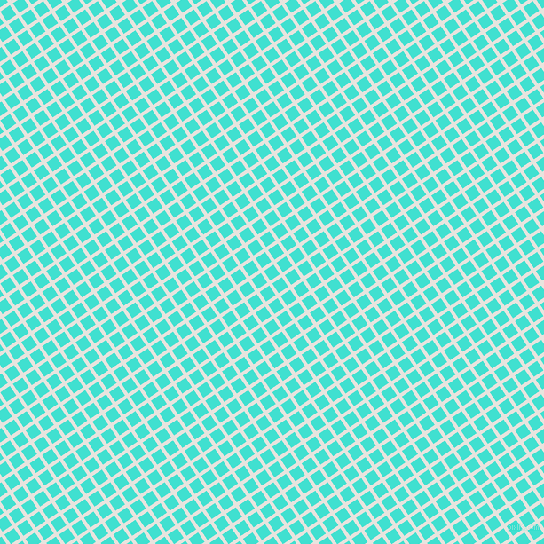 34/124 degree angle diagonal checkered chequered lines, 4 pixel lines width, 13 pixel square size, Wild Sand and Turquoise plaid checkered seamless tileable