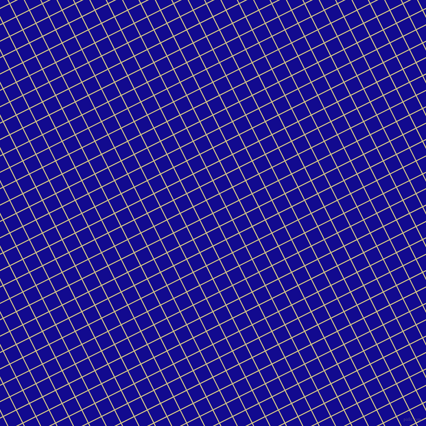 27/117 degree angle diagonal checkered chequered lines, 2 pixel lines width, 27 pixel square size, Winter Hazel and Ultramarine plaid checkered seamless tileable