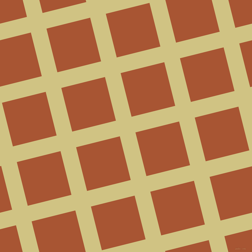 14/104 degree angle diagonal checkered chequered lines, 54 pixel line width, 151 pixel square size, Winter Hazel and Vesuvius plaid checkered seamless tileable