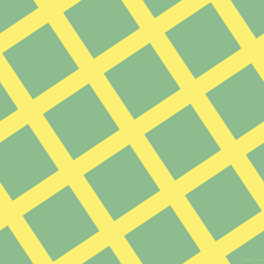 34/124 degree angle diagonal checkered chequered lines, 35 pixel line width, 110 pixel square size, Witch Haze and Dark Sea Green plaid checkered seamless tileable