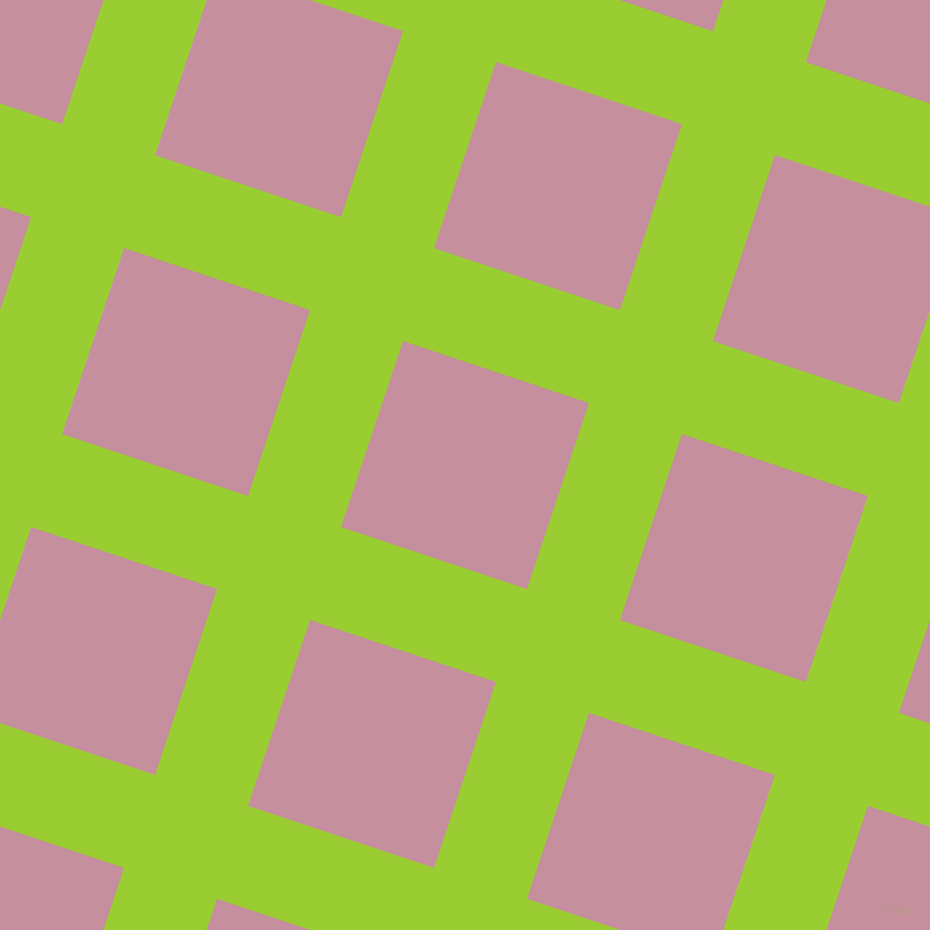 72/162 degree angle diagonal checkered chequered lines, 98 pixel lines width, 196 pixel square size, Yellow Green and Viola plaid checkered seamless tileable
