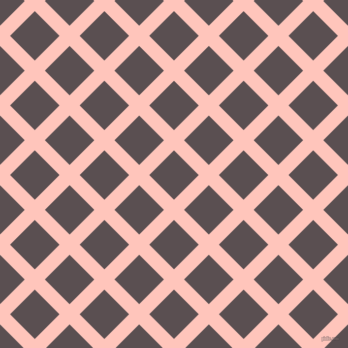 45/135 degree angle diagonal checkered chequered lines, 29 pixel lines width, 71 pixel square size, Your Pink and Don Juan plaid checkered seamless tileable