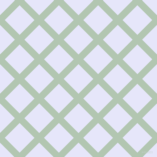 45/135 degree angle diagonal checkered chequered lines, 22 pixel line width, 68 pixel square size, Zanah and Lavender plaid checkered seamless tileable