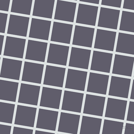 81/171 degree angle diagonal checkered chequered lines, 8 pixel lines width, 63 pixel square sizeZircon and Smoky plaid checkered seamless tileable