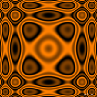 , Black and Dark Orange plasma wave seamless tileable