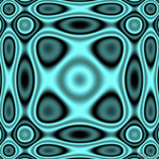 , Black and Electric Blue plasma wave seamless tileable