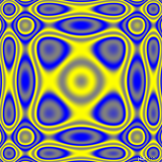 , Blue and Yellow plasma wave seamless tileable