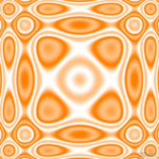 , Dark Orange and White plasma wave seamless tileable