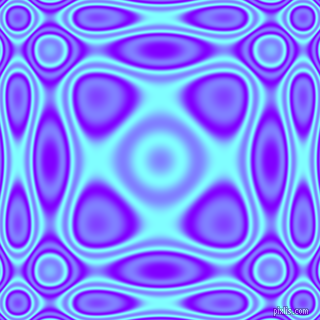 , Electric Indigo and Electric Blue plasma wave seamless tileable