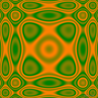 Green and Dark Orange plasma wave seamless tileable
