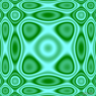 , Green and Electric Blue plasma wave seamless tileable