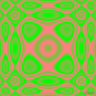 , Lime and Salmon plasma wave seamless tileable