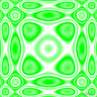 , Lime and White plasma wave seamless tileable
