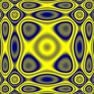 Navy and Yellow plasma wave seamless tileable