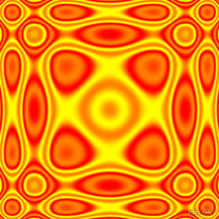 , Red and Yellow plasma wave seamless tileable
