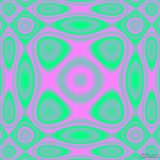 Spring Green and Fuchsia Pink plasma wave seamless tileable