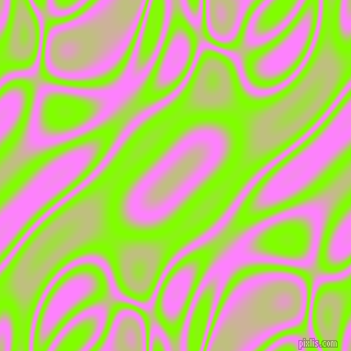 , Chartreuse and Fuchsia Pink plasma waves seamless tileable