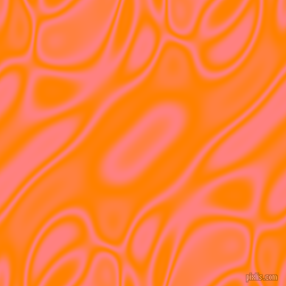 Dark Orange and Salmon plasma waves seamless tileable