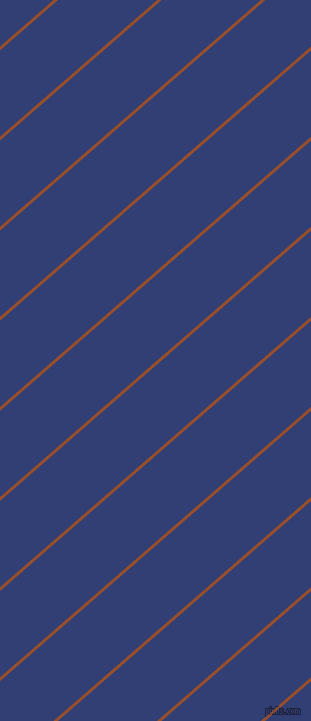 41 degree angle lines stripes, 3 pixel line width, 65 pixel line spacing, Alert Tan and Resolution Blue stripes and lines seamless tileable