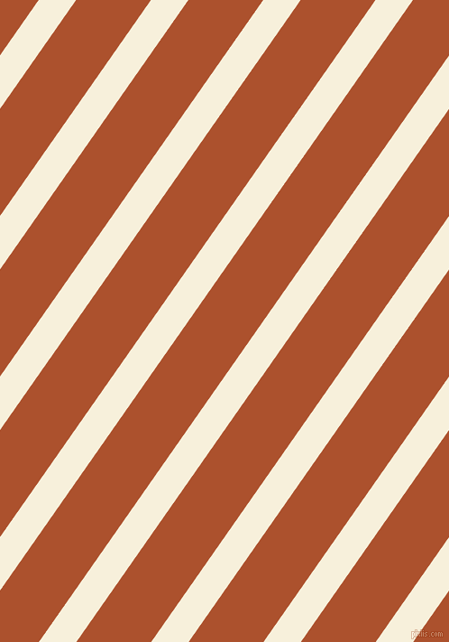 55 degree angle lines stripes, 34 pixel line width, 68 pixel line spacing, Apricot White and Rose Of Sharon stripes and lines seamless tileable