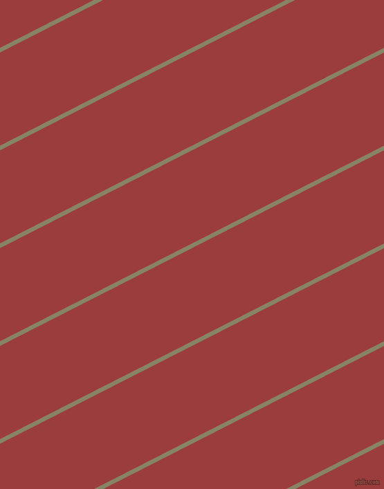 27 degree angle lines stripes, 6 pixel line width, 120 pixel line spacing, Bandicoot and Mexican Red stripes and lines seamless tileable