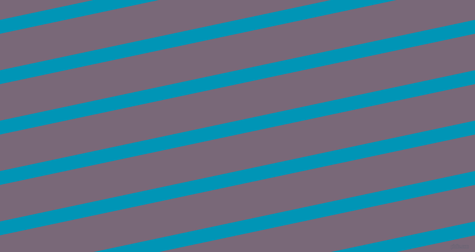 12 degree angle lines stripes, 27 pixel line width, 71 pixel line spacing, Bondi Blue and Old Lavender stripes and lines seamless tileable