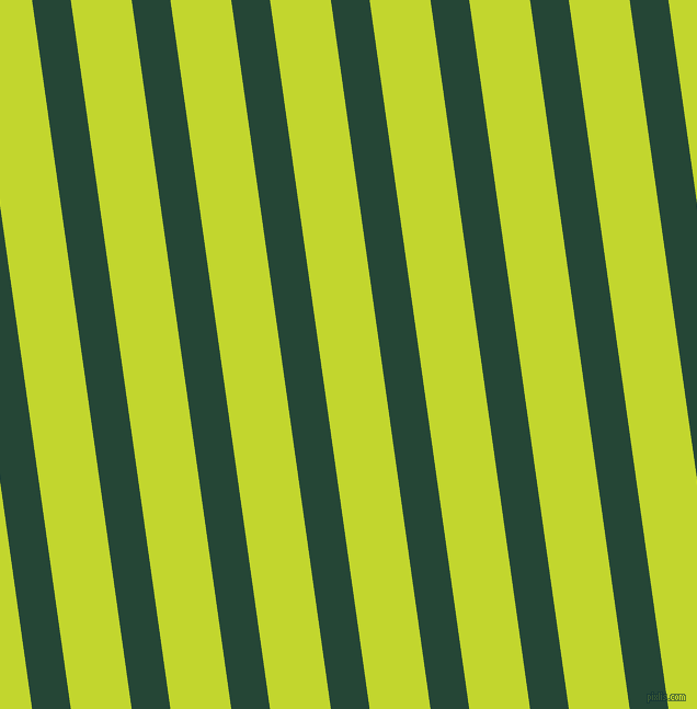 98 degree angle lines stripes, 35 pixel line width, 55 pixel line spacing, Bottle Green and Fuego stripes and lines seamless tileable