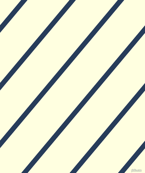 50 degree angle lines stripes, 17 pixel line width, 112 pixel line spacing, Catalina Blue and Light Yellow stripes and lines seamless tileable