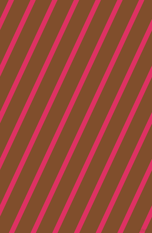 65 degree angle lines stripes, 16 pixel line width, 49 pixel line spacing, Cerise and Korma stripes and lines seamless tileable