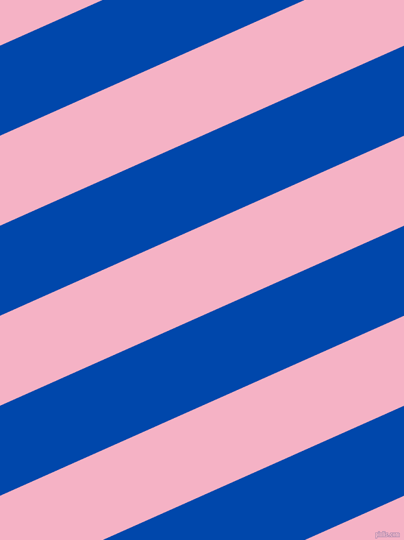 24 degree angle lines stripes, 120 pixel line width, 120 pixel line spacing, Cobalt and Cupid stripes and lines seamless tileable