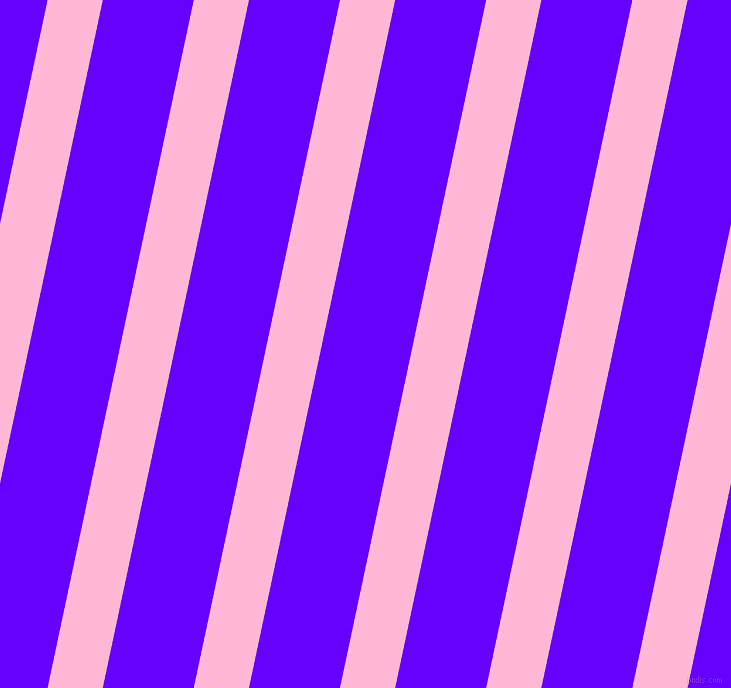 78 degree angle lines stripes, 54 pixel line width, 89 pixel line spacing, Cotton Candy and Electric Indigo stripes and lines seamless tileable