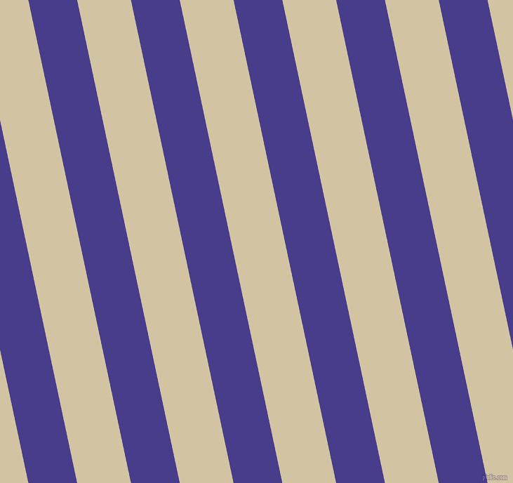 102 degree angle lines stripes, 68 pixel line width, 75 pixel line spacing, Dark Slate Blue and Double Spanish White stripes and lines seamless tileable
