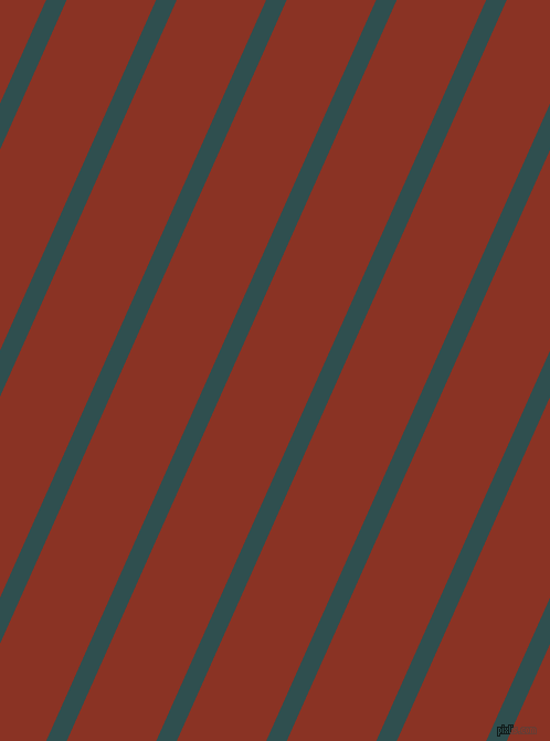 66 degree angle lines stripes, 17 pixel line width, 74 pixel line spacing, Dark Slate Grey and Burnt Umber stripes and lines seamless tileable