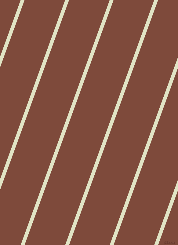 70 degree angle lines stripes, 12 pixel line width, 125 pixel line spacing, Frost and Nutmeg stripes and lines seamless tileable