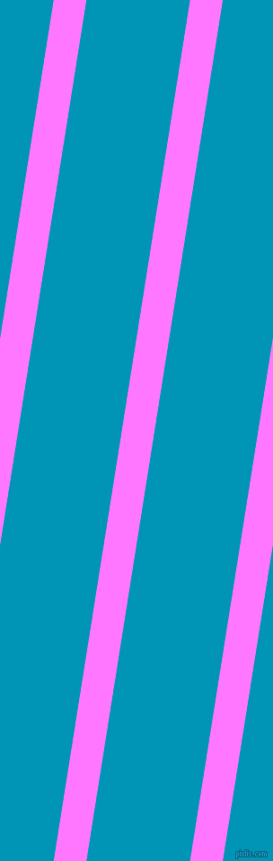 81 degree angle lines stripes, 36 pixel line width, 114 pixel line spacing, Fuchsia Pink and Bondi Blue stripes and lines seamless tileable