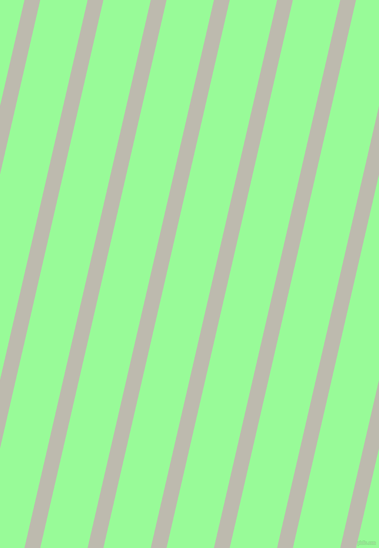 77 degree angle lines stripes, 30 pixel line width, 90 pixel line spacing, Grey Nickel and Pale Green stripes and lines seamless tileable